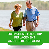 Outpatient Total Hip Replacement and Gip Resurfacing